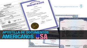 Como Apostilla de Documentos en Estados Unidos